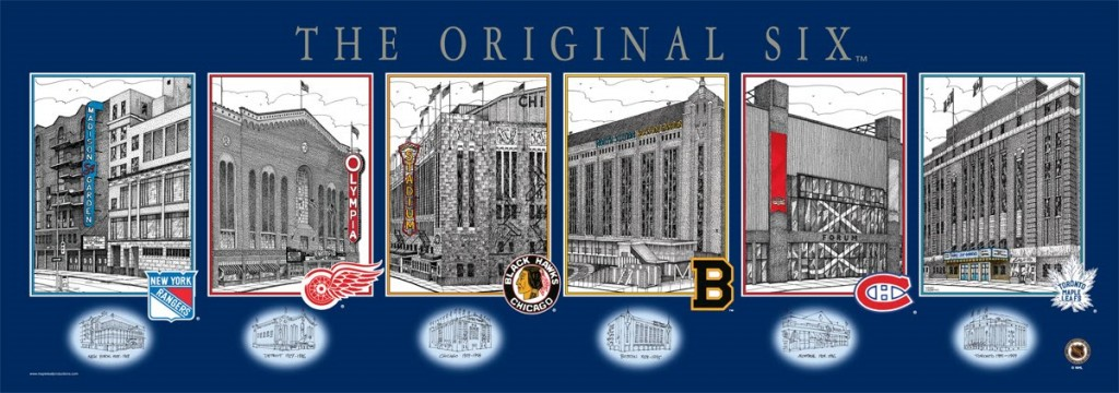 Original Six Arenas