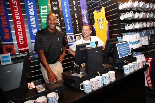 Bruce Bowen all'NBA House di Londra