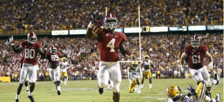 Questa volta è T.J. Yeldon il game winner per Alabama...
