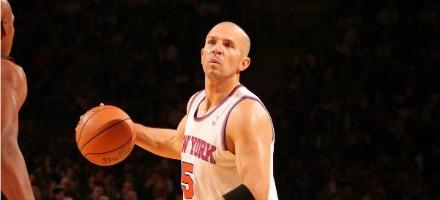 Alla bella età di 39 anni Jason Kidd è ancora titolare nella NBA...