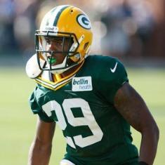 Casey Hayward è il miglior rookie difensivo dei Packers.