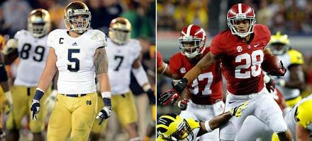 Notre Dame - Alabama è una finale nazionale tanto inattesa quanto meritata...