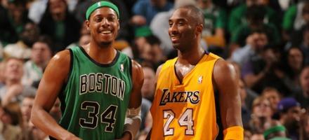 Pierce e Bryant se la ridono, ma le rispettive squadre un po' meno...