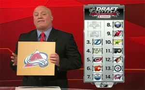 NHL lottery draft 2013