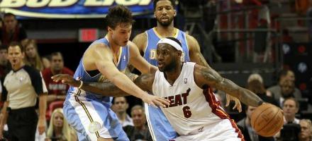 Heat contro Nuggets è anche Lebron contro il Gallo,,,