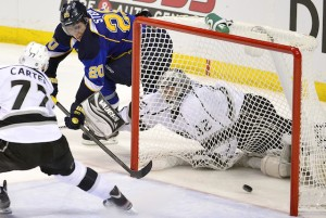 NHL: Stanley Cup Playoffs-Los Angeles Kings at St. Louis Blues