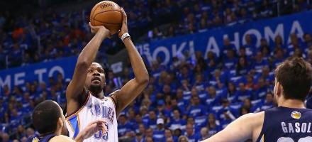Nato per giocare finali di gara come questi, Kevin Durant affossa Memphis in gara 1