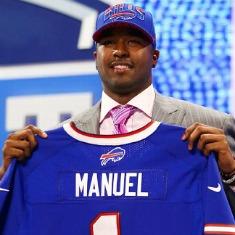 E.J. Manuel è stato, a sorpresa, il primo quarterback scelto.