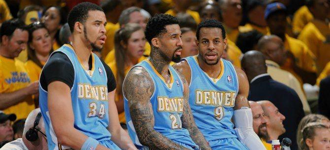 Non tutto è andato come tifosi e dirigenza speravano per i Denver Nuggets di McGee, Chandler e Iguodala...