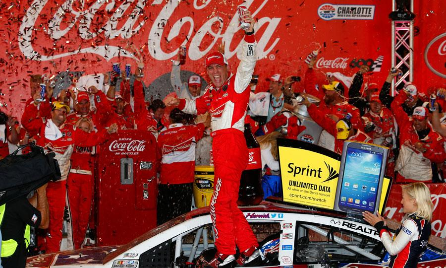 1Harvick-Charlotte-NASCAR