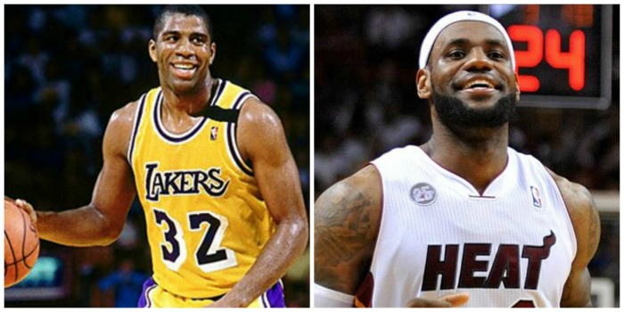 Magic Johnson vs Lebron James: i 2 più incredibili atipici della storia del gioco...