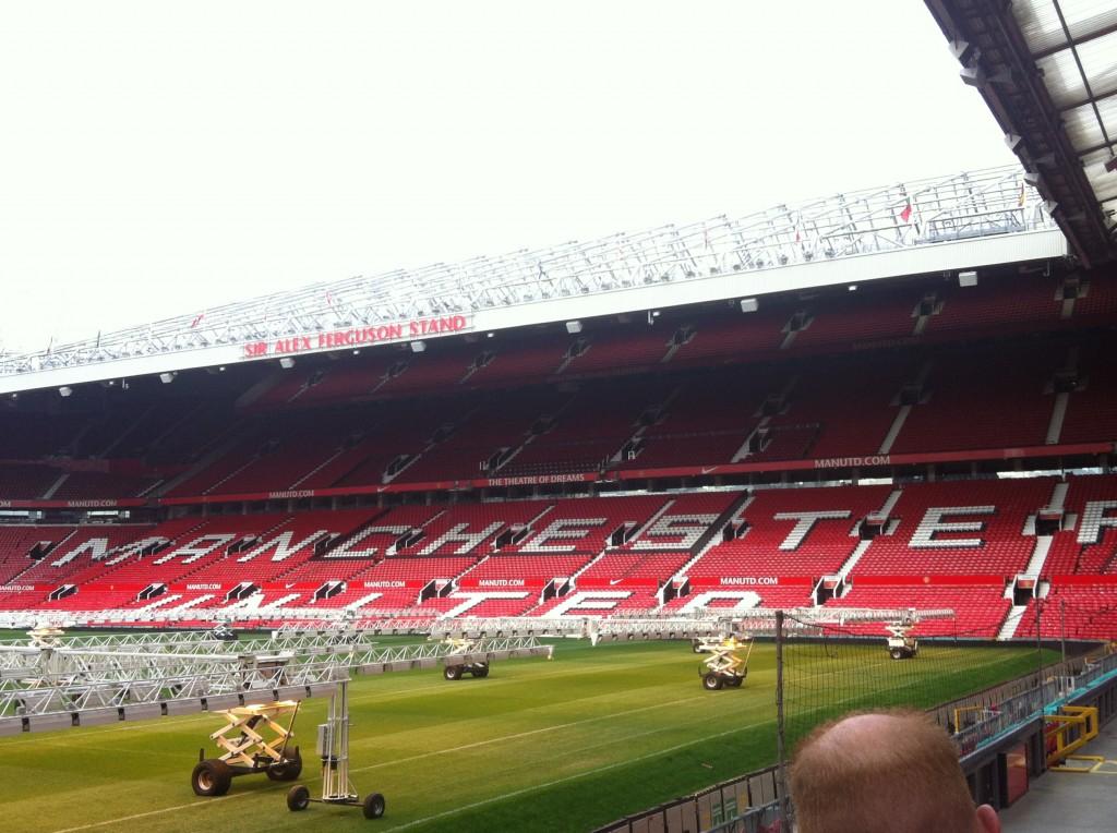 """Old Trafford Stadium, """"Teatro dei Sogni"""" non per caso."""