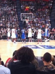 Philadelphia in lunetta nel quarto periodo. Alla fine la spunteranno i Thunder al termine di una partita bella e combattuta.