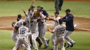 I Boston Red Sox tornanno al Championship dell'American League