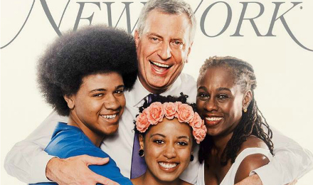 Italiani e neri, i De Blasio sono la first family di New York