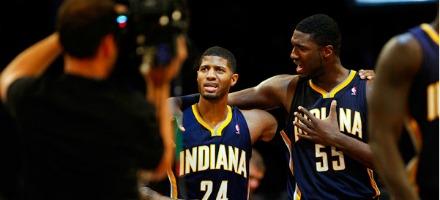 In questo momento gli Indiana Pacers sono sotto i riflettori come non mai: 8-0 !