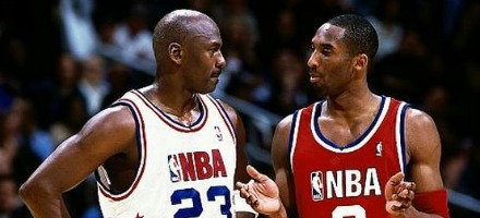 Nell'era moderna della pallacanestro, questo si può a tutti gli effetti considerare come il primo passaggio di consegne...