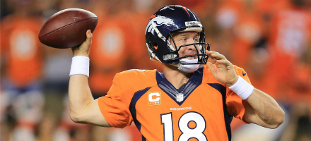4. Peyton Manning MVP già in faretra, Denver Broncos caricatissimi dopo la de