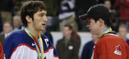 Una delle prime sfide fra Ovechkin e Crosby: il World Junior Hockey Championships del 2005. Oro al Canada, argento alla russia.