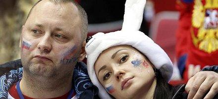 Il nostro inviato a Sochi, travestito da tifoso russo deluso per famigliarizzare con gli abitanti del luogo...
