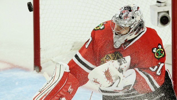 Los Angeles Kings v Chicago Blackhawks - Game One