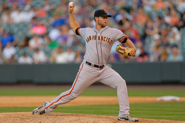 Hunter Strickland, lanciatore vincente di gara 4