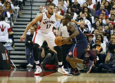 Jonas Valanciunas è uno dei giovani big men più interessanti della NBA.
