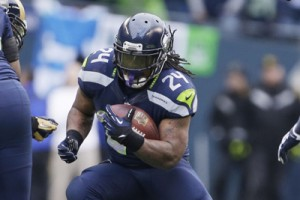 "Marshawn ""Beastmode"" Lynch, inarrestabile nell'ultimo Sunday Night Football"