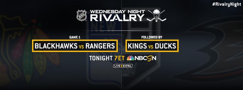NHL: WEDNESDAY NIGHT RIVALRY…TWICE! (18/03/15) – Play.it USA