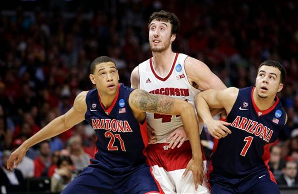 173NCAA Arizona Wisconsin Basketball