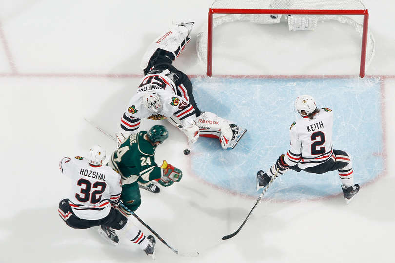 Crawford salva su Parise Chi@Min Game 3