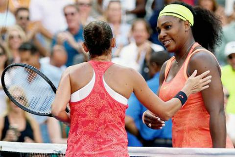 La più grande storia sportiva dell'anno, se non molto di più. Serena Vinci batte Serena Williams agli US Open negando all'invincibile dominatrice il Grande Slam a casa sua. Poi in finale sarò battuta da Flavia Pennetta in una improbabile finale tutta italiana