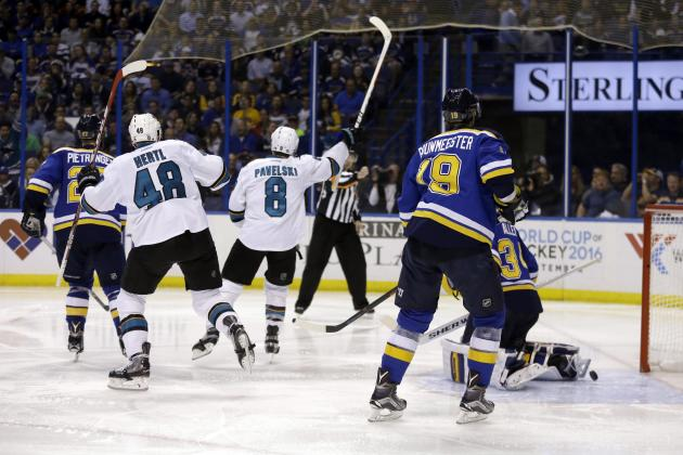 San Jose avanti 3-2 nelle Western Conference Finals – Primo match point contro Saint Louis