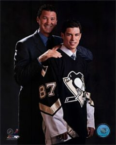 2005---Sidney-Crosby-Mario-Lemieux-Draft-Day-Photograph-C12056008