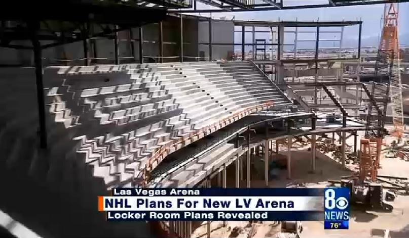 I lavori per la T-Mobile Arena di Las Vegas, casa degli Aces dal 2017