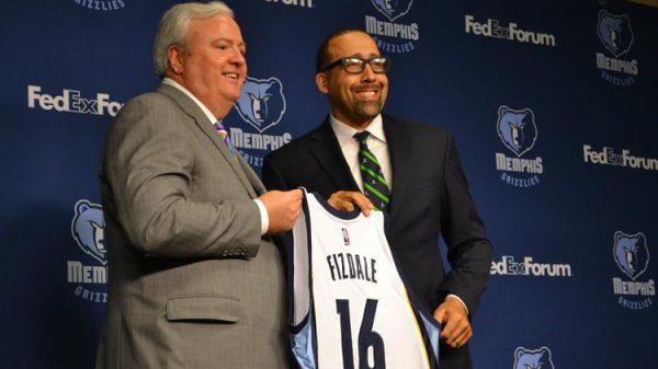 La faccia pulita e empaticamente simpatica di Fizdale, il nuovo allenatore dei Memphis Grizzlies.