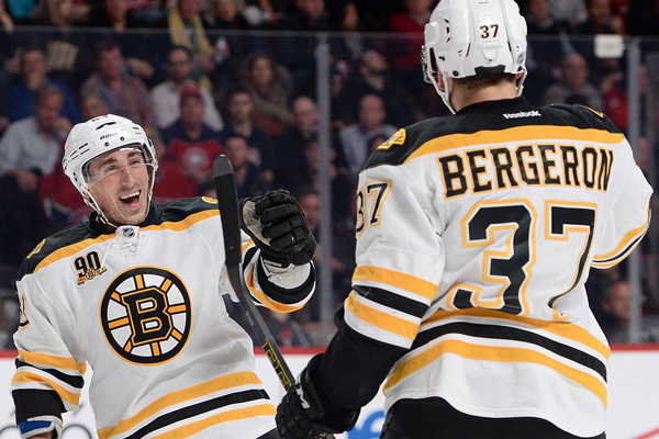 B. Marchand & P. Bergeron (BOS)