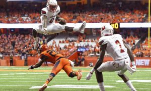 USP NCAA FOOTBALL: LOUISVILLE AT SYRACUSE S FBC USA NY