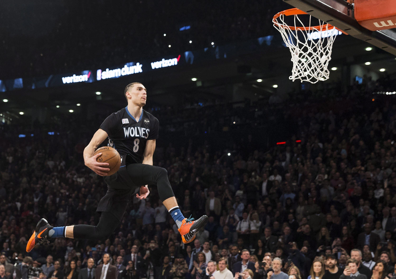 zach lavine dunk - photo #12